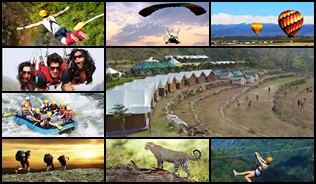 adventure tour for 2 nights 3 days deluxe camp price rishikesh