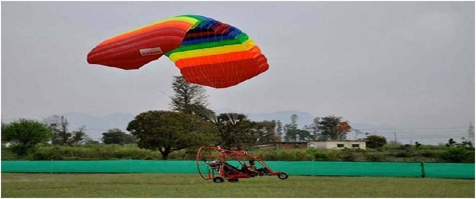 Air safari activity in Rishikesh