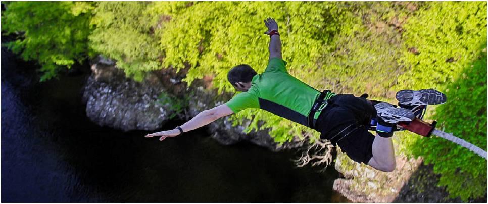 Bungee Jumping activity rishikesh