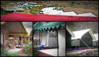 2 nights 3 days deluxe camp package holiday rishikesh
