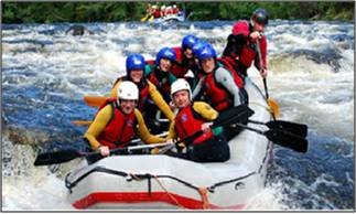 affordable river rafting camping packages in rishikesh