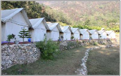 Deluxe Camping at Rishikesh