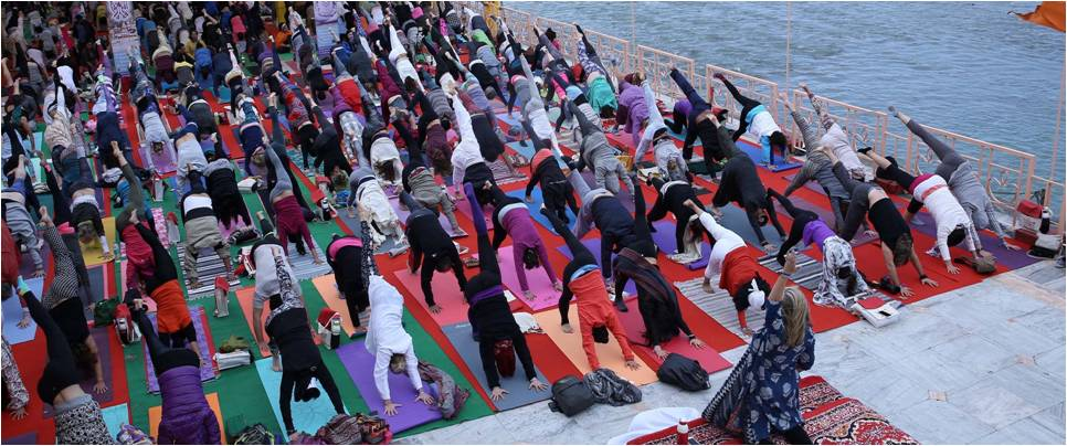 International Yoga Festival In Rishikesh 2019 Krishna Holidays Rishikesh Yoga Festival Tour Top Tour Organizers Travel Companies Operators In India 2019 Fees Charges Prices For International Yoga Festival In Rishikesh
