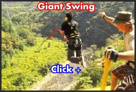 Giant Swing activity rishikesh