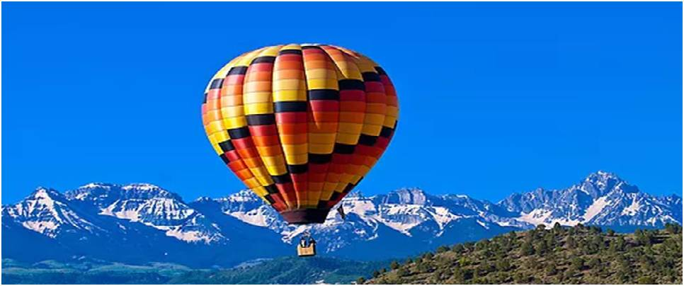 Hot Air Balloon activity in Rishikesh