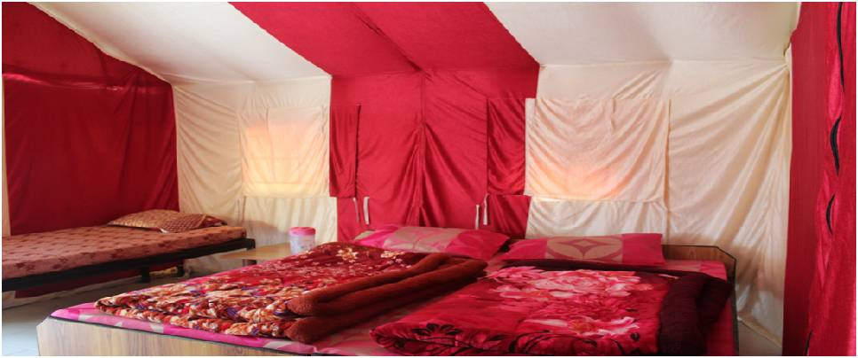 Luxury Swiss Camps 1 night 2 days Stay rishikesh