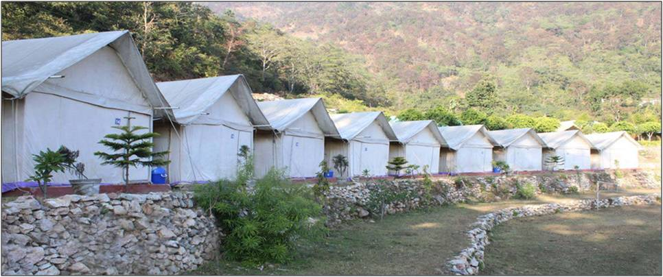 2 Nights Deluxe Camping Activity in rishikesh