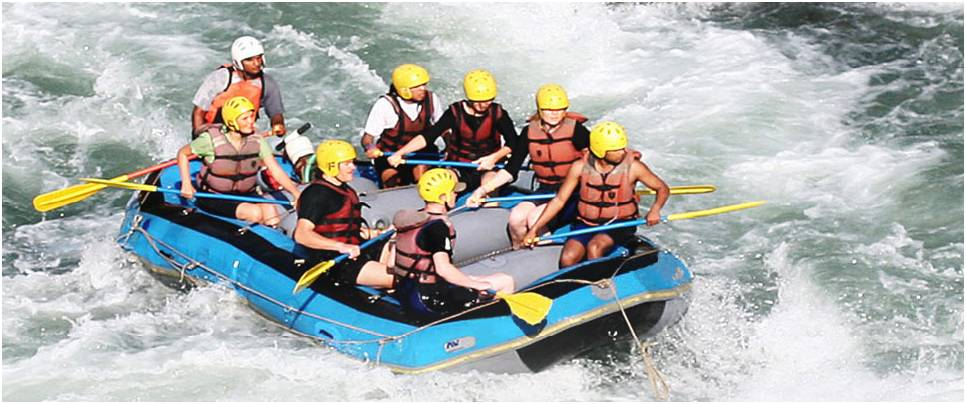 Marine Drive River Rafting Charges Rishikesh