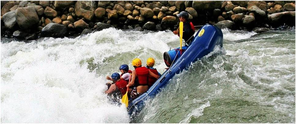 Marine Drive River Rafting Package