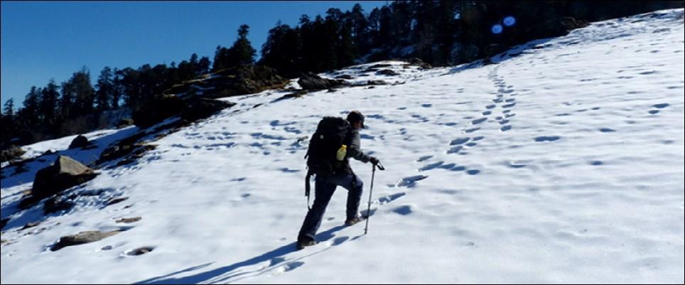 Trekking to Nag Tibba Uttarakhand