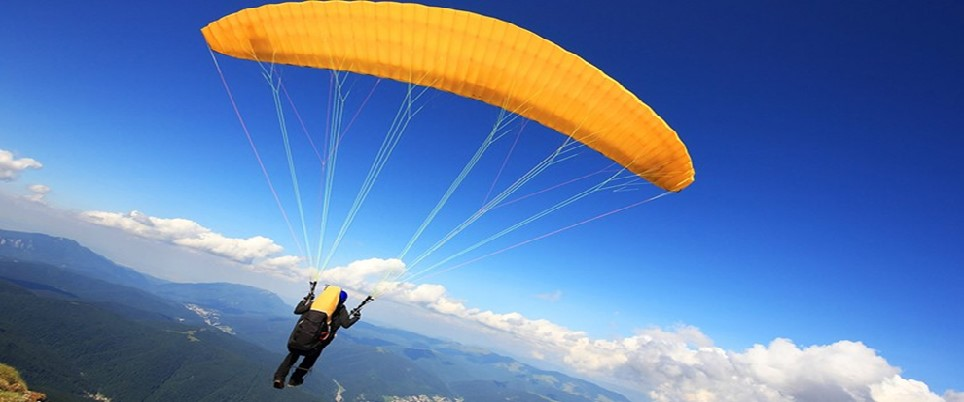 Paragliding Activity in Rishikesh