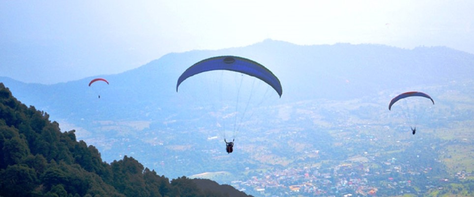 Paragliding Adventure in Dehradun