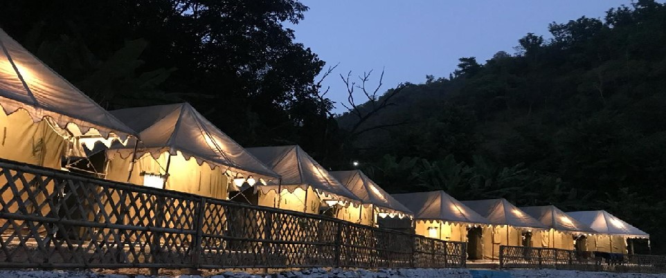 riverside camps & Tents shivpuri rishikesh