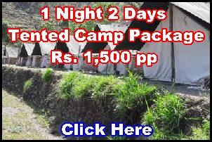 Shivpuri tent camps in Rishikesh