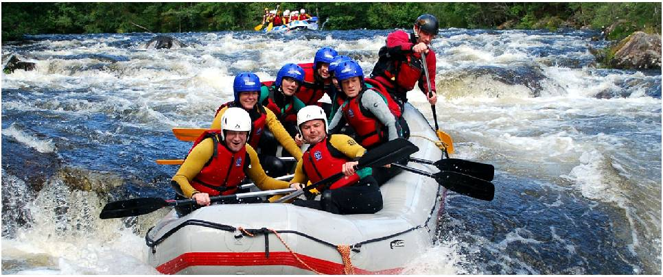 Shivpuri River Rafting Activity