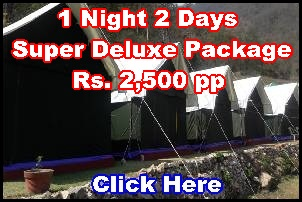 Camps Packages in Rishikesh