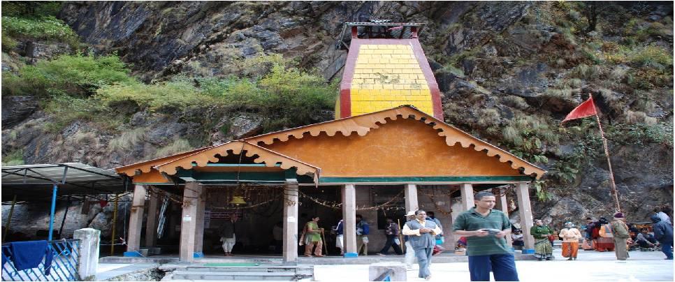 Yamunotri Temple in Uttarakhand